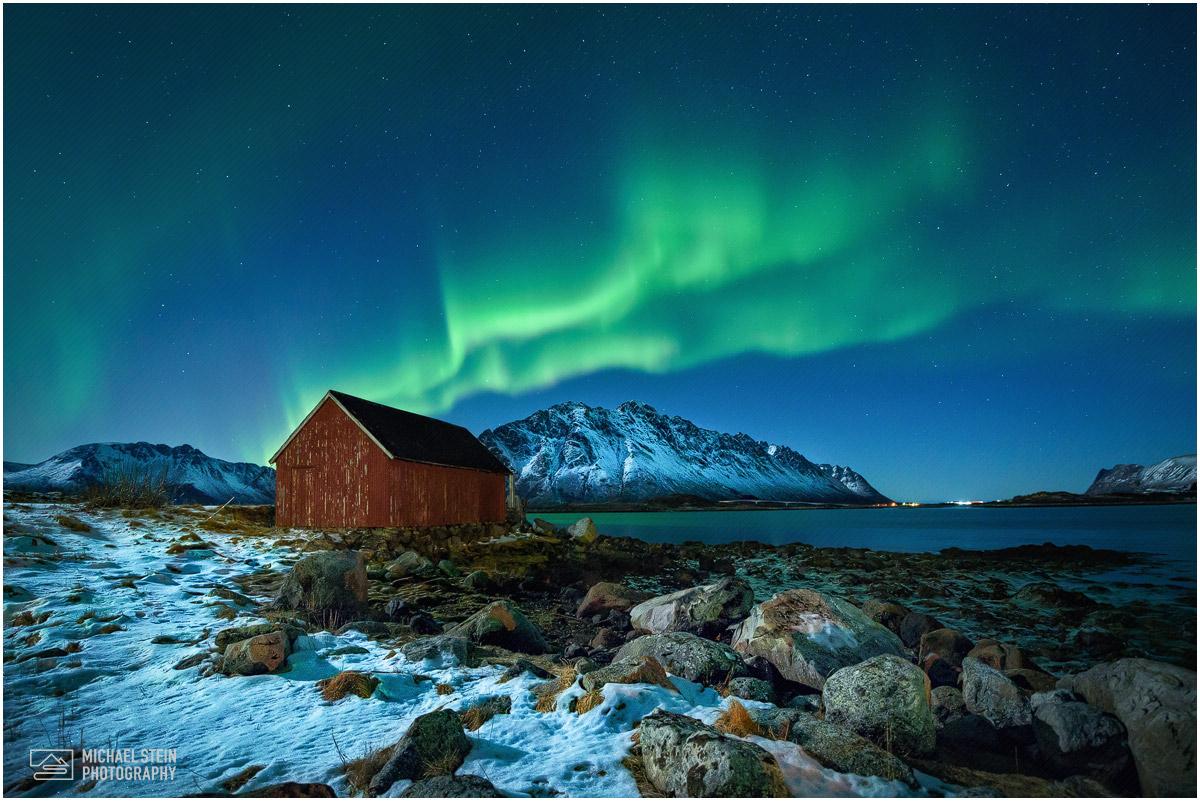 Aurora Borealis Nordlicht Polarlicht 187 Aurora Mit
